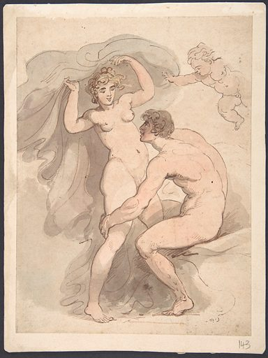 Venus, Anchises and Cupid (1780–1827). Accession number: 69.131.5.