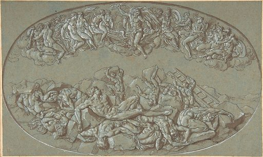 Fall of the Giants (late 17th–early 18th century). Accession number: 1975.131.188.