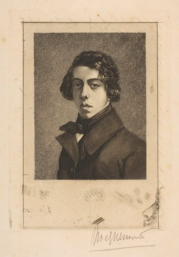 Portrait of Théodore Chassériau (1893). Accession number: 2001.569.