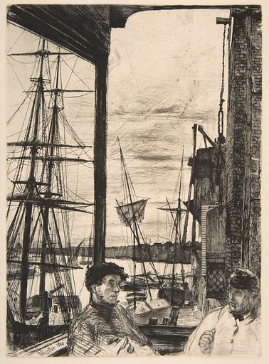 Rotherhithe (Wapping) (1860). Accession number: 17.3.49.
