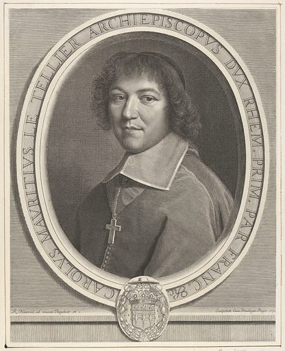 Charles-Maurice le Tellier (1671). Accession number: 2000.416.22.