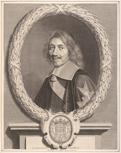 Chancelier Le Tellier (17th century). Accession number: 2000.416.24.