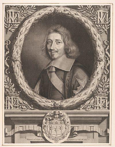Chancelier Michel IV Le Tellier (1659). Accession number: 2000.416.25.