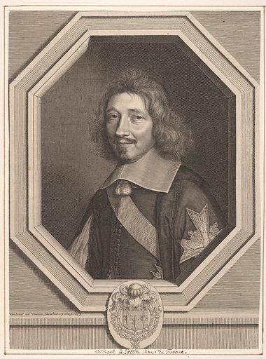 Chancelier Michel IV Le Tellier (1658). Accession number: 2000.416.26.