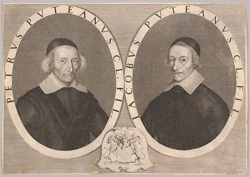 Double Portrait of Pierre and Jacques Dupuy (ca. 1648–49). Accession number: 2000.416.52.