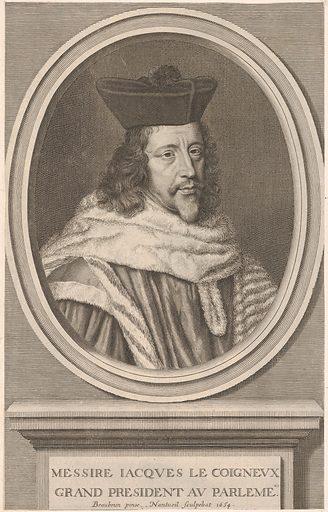 Jacques Le Coigneux (1654). Accession number: 2000.416.53.