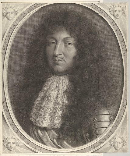 Louis XIV (1686). Accession number: 2000.416.62.