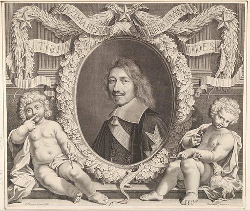 Chancelier Michel IV Le Tellier (ca. 1662). Accession number: 2000.416.69.