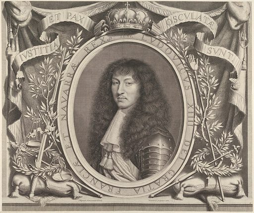 Louis XIV (1661). Accession number: 2000.416.81.