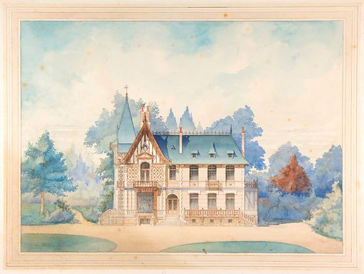 View of a Country House (1898). Accession number: 67.837.1.