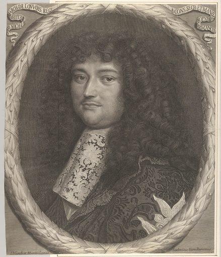 François-Michel Le Tellier, marquis de Louvois (17th century). Accession number: 2000.416.64.
