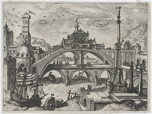 Riverscape with a Double Bridge (ca. 1560–70). Accession number: 1999.360.12.