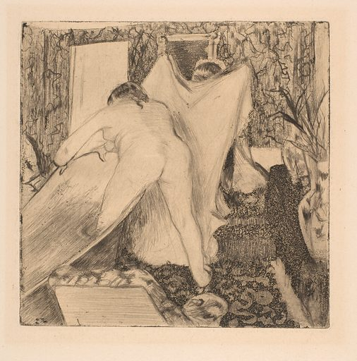 Leaving the Bath (1879–80). Accession number: 21.39.1.