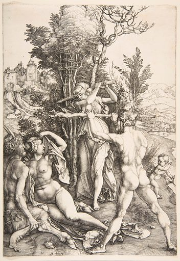Hercules at the Crossroad. Date: ca 1498. Accession number: 197383.