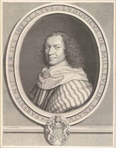 Louis-Dominique de Bailleul (1660). Accession number: 2001.647.4.