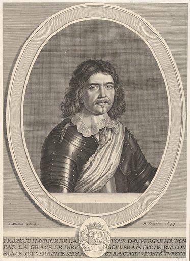 Frédéric-Maurice de la Tour d'Auvergne, duc de Bouillon (1649). Accession number: 2001.647.12.