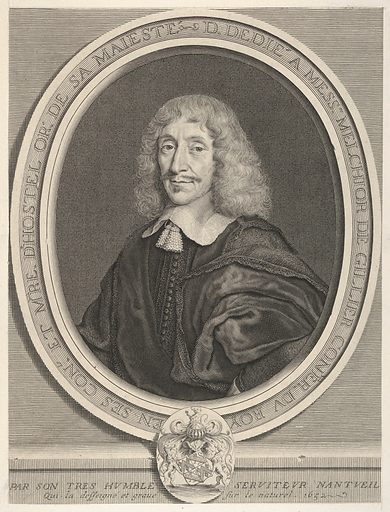 Melchior de Gillier (1652). Accession number: 2001.647.21.