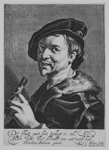 The Man with the Flute (1625). Accession number: 17.3.1402.