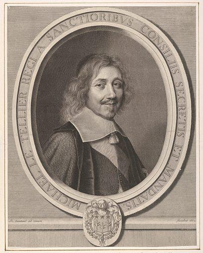 Le Chancelier Michel IV Le Tellier (1662). Accession number: 2001.647.30.