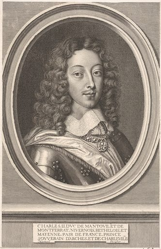 Charles II de Gonzague-Clèves, duc de Mantoue (ca. 1652). Accession number: 2001.647.37.