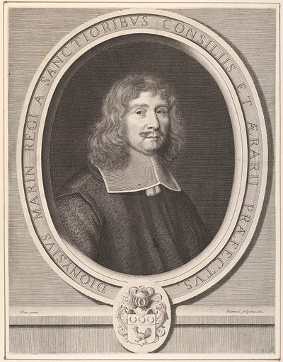 Denis Marin (1661). Accession number: 2001.647.38.
