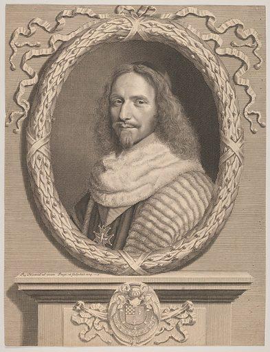 Nicolas Potier de Novion (1664). Accession number: 2001.647.47.