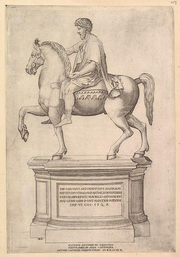 Speculum Romanae Magnificentiae: Marcus Aurelius (16th century). Accession number: 41.72(2.107).