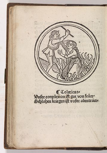 German Almanac (1484). Published in Augsburg, Germany. Accession number: 26.56.1.