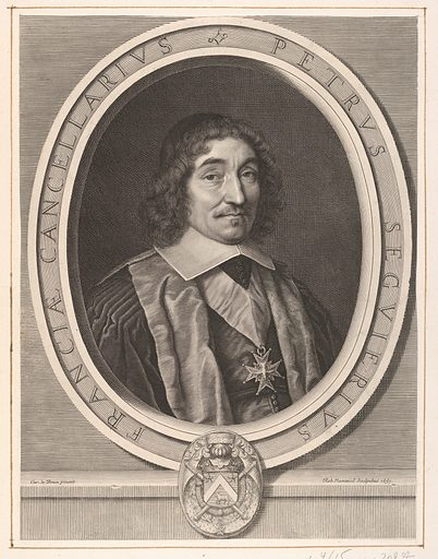 Le chancelier Pierre Séguier (1657). Accession number: 2001.647.52.