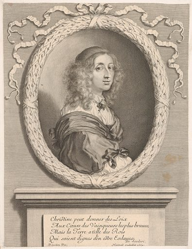Christine, reine de Suède (1654). Accession number: 2001.647.54.