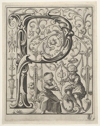Newes ABC Buchlein (1627). Accession number: 47.108.10(1-25).