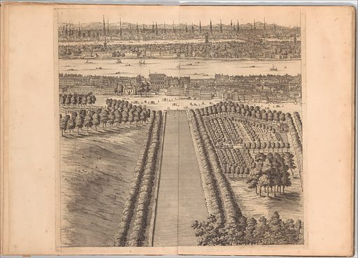 A Prospect of the City of London, Westminster and St. James' Park (1710). Accession number: 59.600.3.