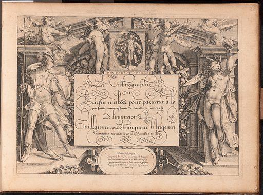 La Technographie. La Rizographie. La Caligraphie (1599). Accession number: 28.106.17.
