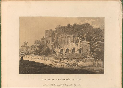 A Select Collection of Views and Ruins in Rome and Its Vicinity. Recently Executed from Drawings Made Upon the Spot (ca. 1819). Accession number: 1970.565.47.