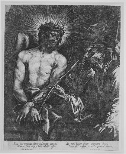 Christ Crowned with Thorns (copy) (1671). Accession number: 17.50.15-97.