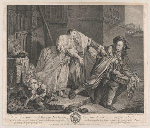 Le Geste Napolitain (1763). Accession number: 53.600.190.