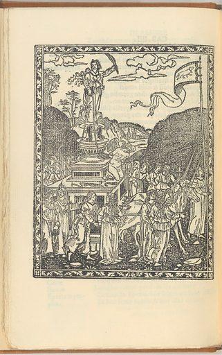 Triomphi di messer Francesco Petracha (facsimile) (December 16, 1499). Accession number: 22.90.