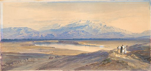 Mount Olympus from Larissa, Thessaly, Greece (1850–85). Accession number: 1996.205.