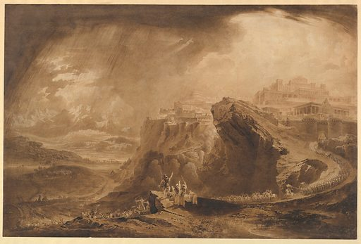 Joshua Commanding the Sun to Stand Still Upon Gibeon (Joshua: 10: 12–14) (ca. 1822). Accession number: 1975.131.200.