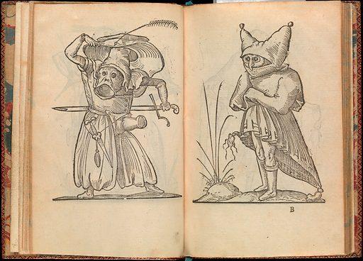 Les Songes Drolatiques de Pantagruel ou sont contenues plusieurs figures de l'invention de maitre François Rabelais ([1565]). Accession number: 53.544.