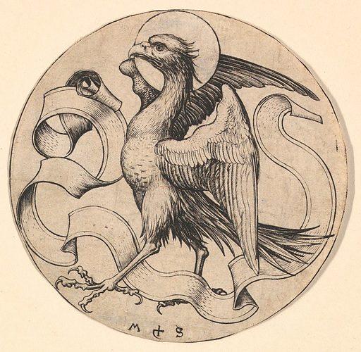 The Eagle of Saint John (ca. 1435–1491). Accession number: 55.516.5.