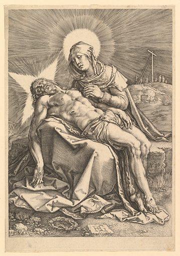 Pietà (1596). Accession number: 17.37.16.
