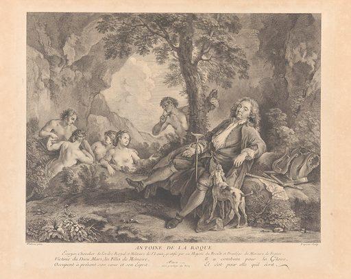 L'Oeuvre D'Antoine Watteau Pientre du Roy en son Academie Roïale de Peinture et Sculpture Gravé d'après ses Tableaux & Desseins originaux...par les Soins de M. de Jullienne (ca. 1740). Accession number: 28.113(1-3).