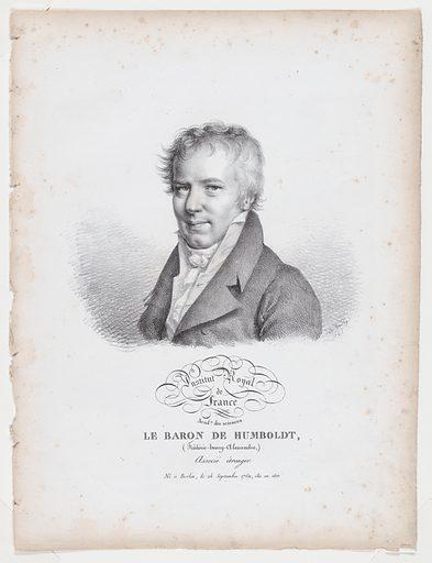 Portrait of Le Baron de Humboldt (1821). Accession number: 1987.1183.81.