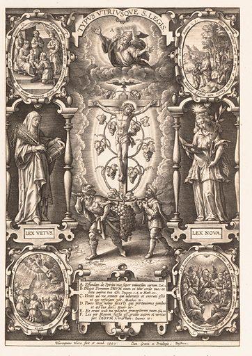 Typus Utriusque S. Legis (1570–1619). Accession number: 51.501.6396.