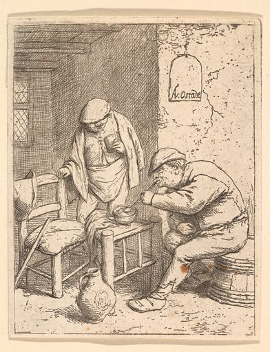 The Smoker and the Drinker (1682 ?). Accession number: 48.126.1.