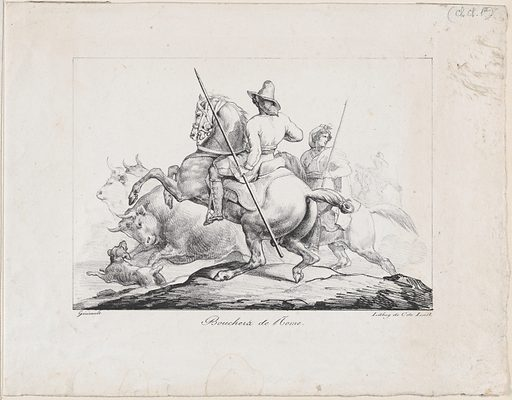Bouchers de Rome (1817). Accession number: 22.63.44.