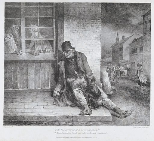 Pity the Sorrows of a Poor Old Man (1822). Accession number: 22.63.26.