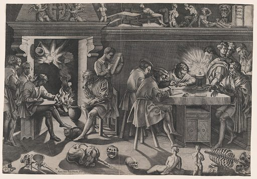 The Academy of Baccio Bandinelli (ca. 1544). Accession number: 17.50.16-135.