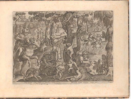 Eleven bound prints of hunts (nd). Accession number: 60.651.